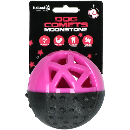 Dog Comets Leckerball Moonstone rosa