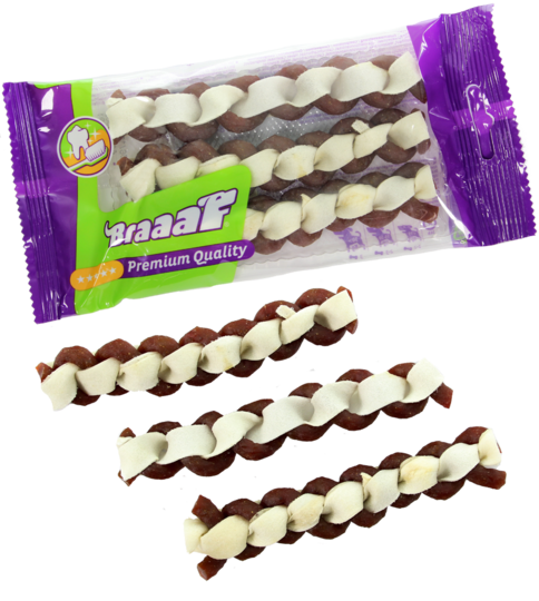 Braaaf Twister Double 12cm x 3