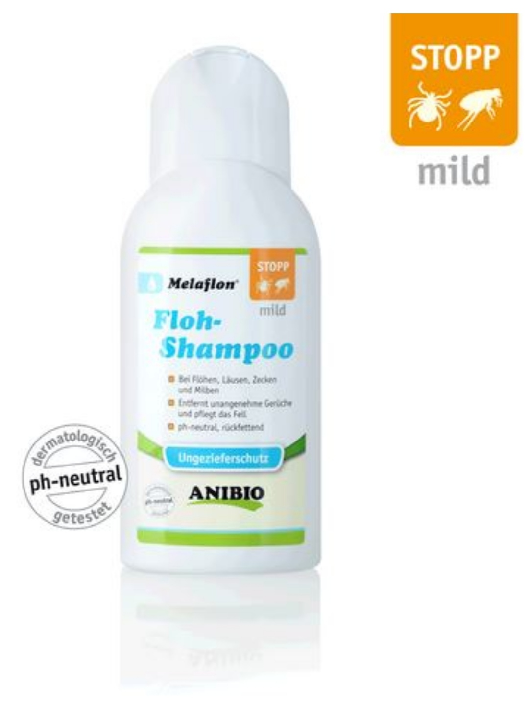 ANIBIO Melaflon Floh-Shampoo, mild, 250ml