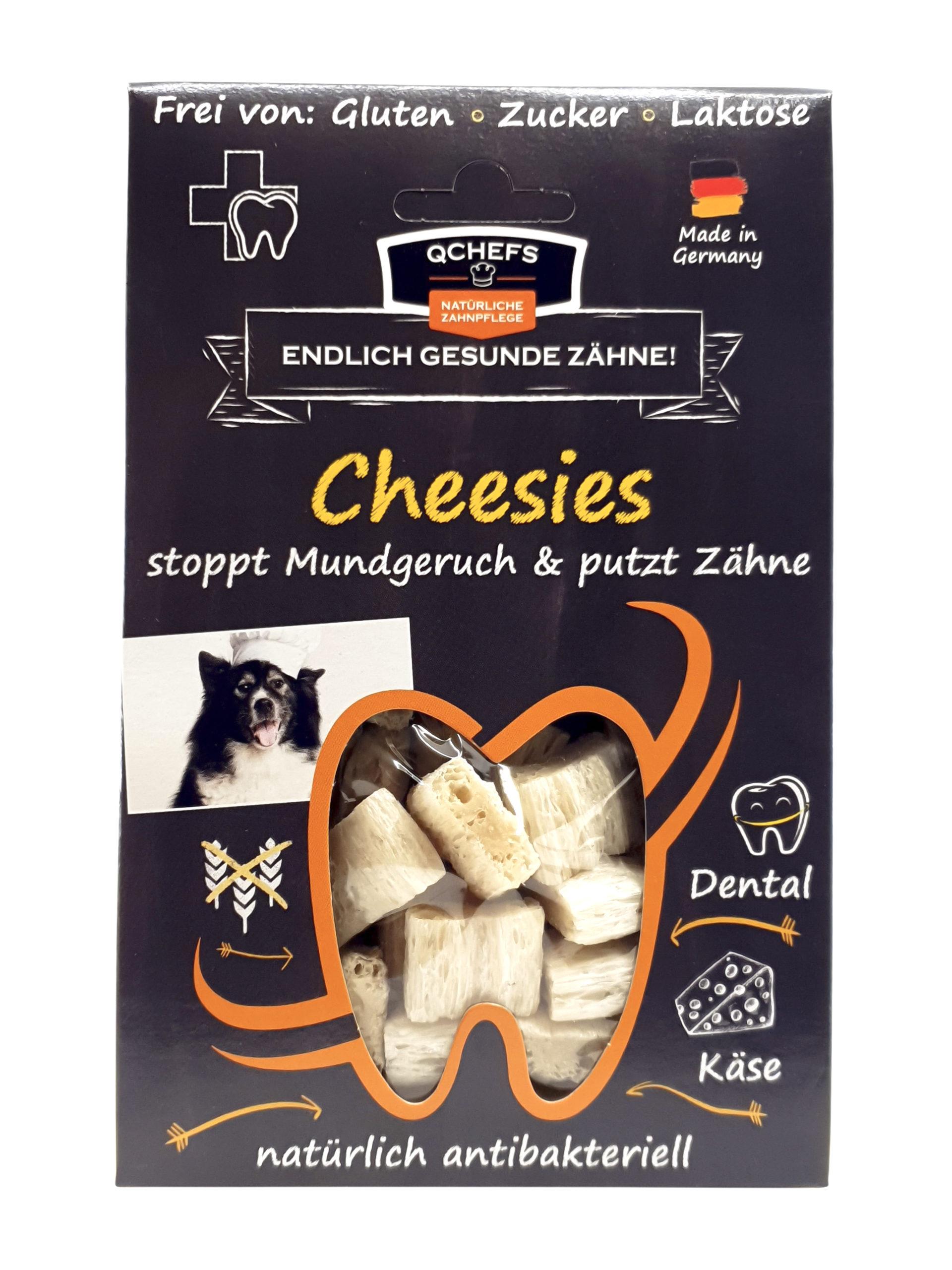 Qchefs Cheesies Zahnpflege lecker