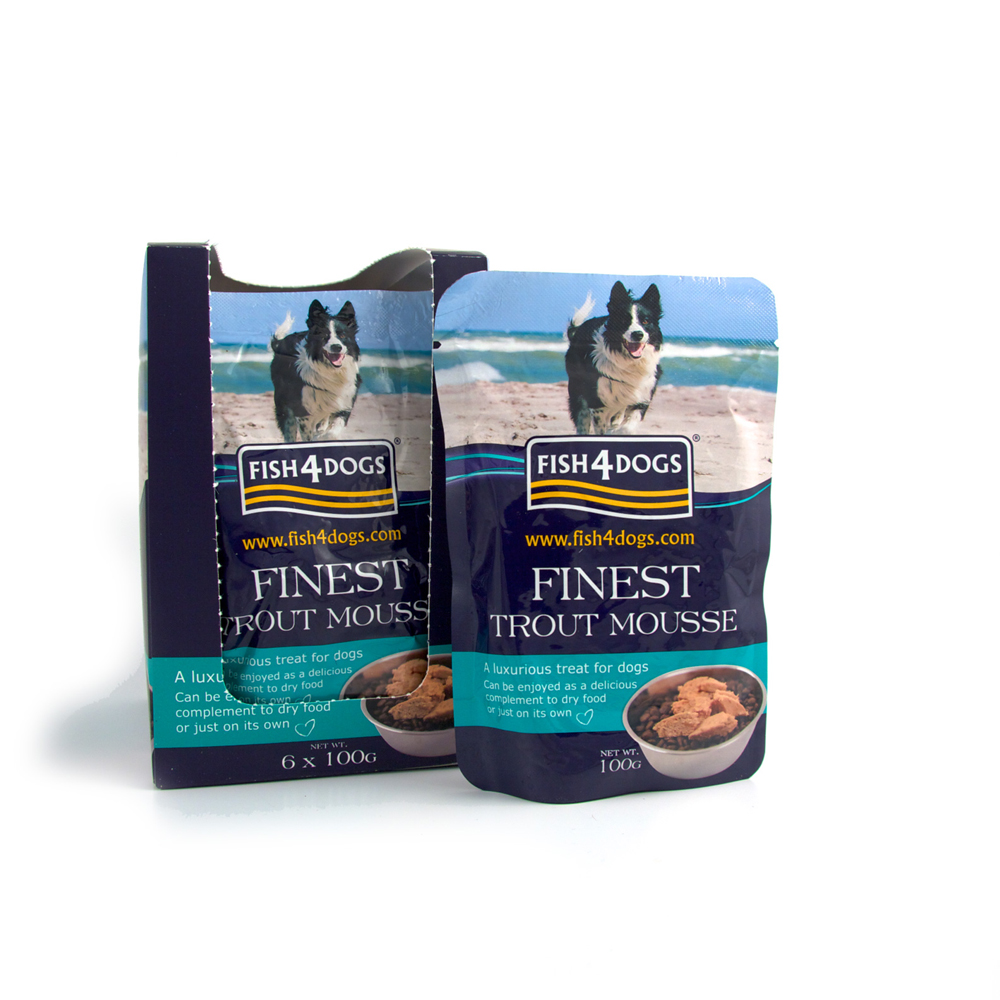 Fish4Dogs Trout Mousse 100g