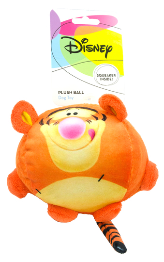 "Disney Plush Dog-Ball ""Tigger"""
