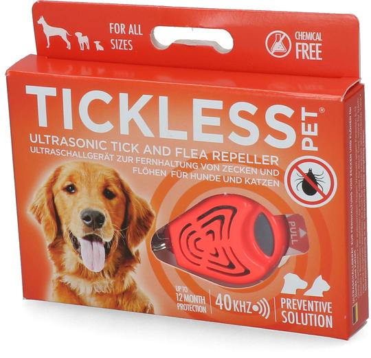Tickless Pet - Schutz vor Zecken & Flöhen
