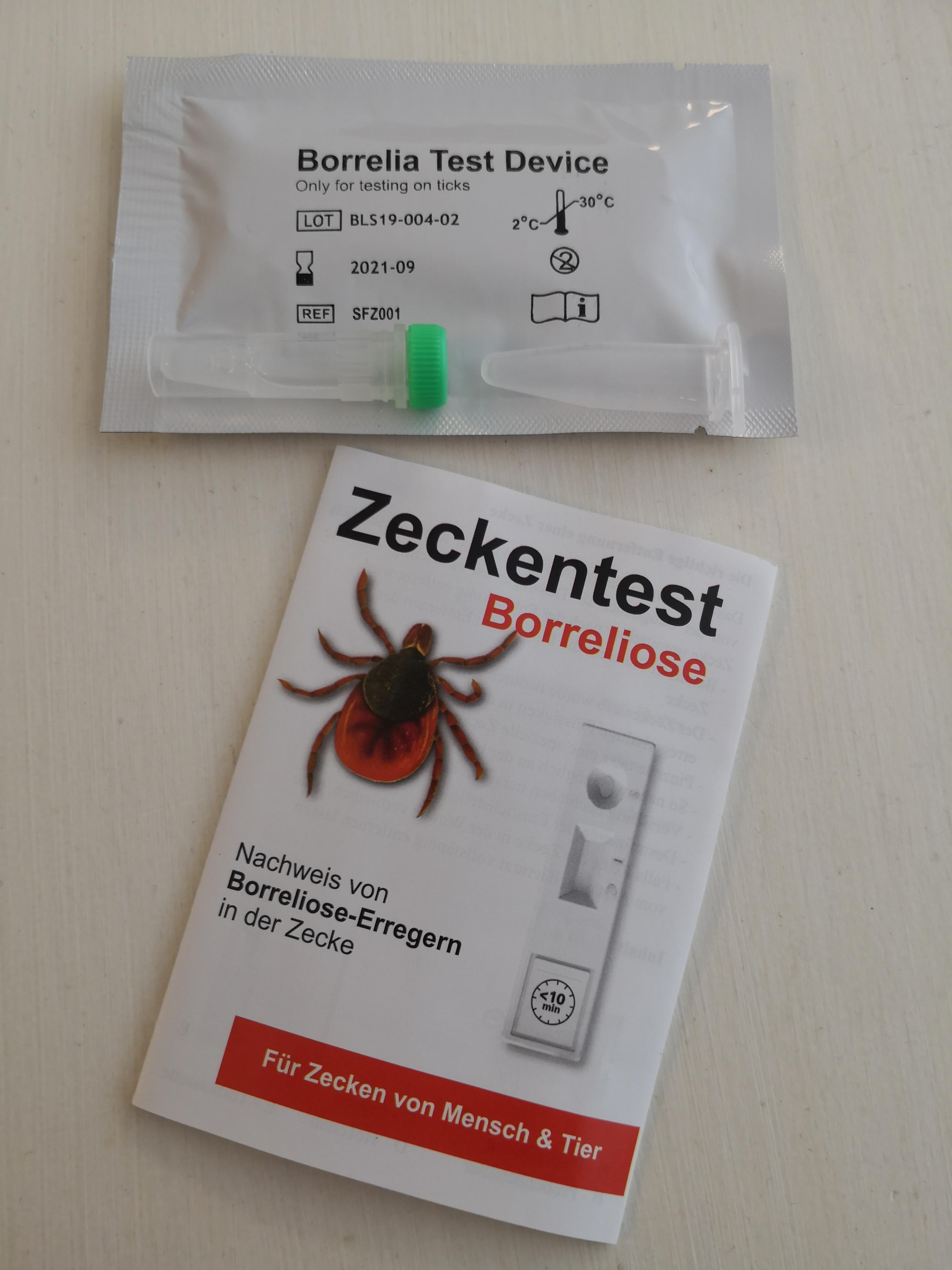 Bavarian Lifescience Zecken Borreliose Test