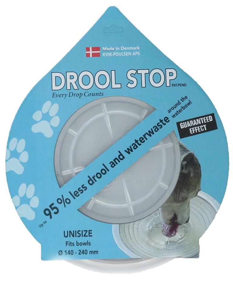 Drool Stop – Jeder Tropfen zählt