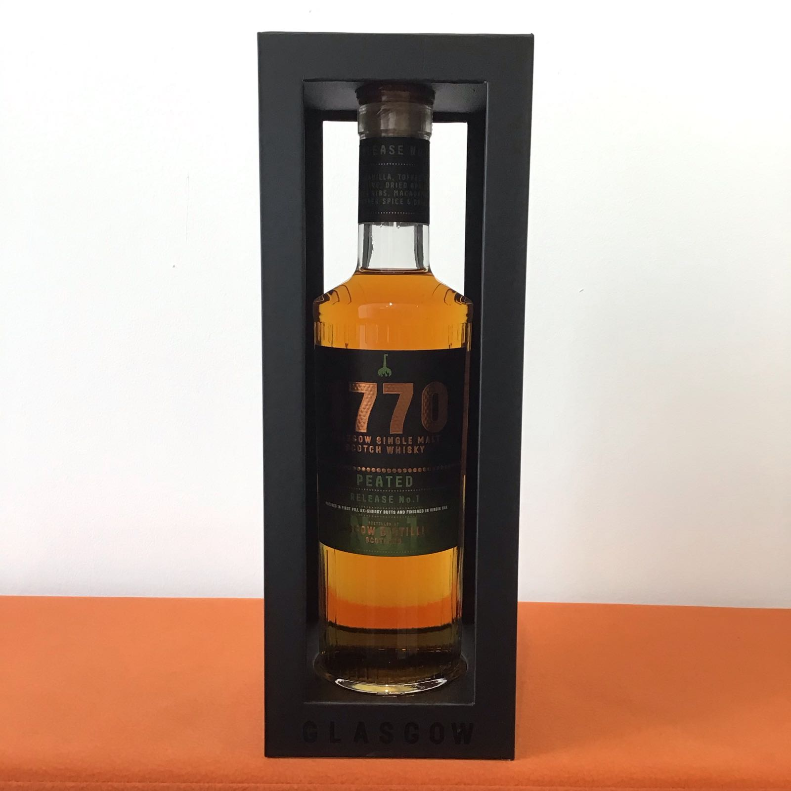 Glasgow Distillery Peated 1770 (1st release)