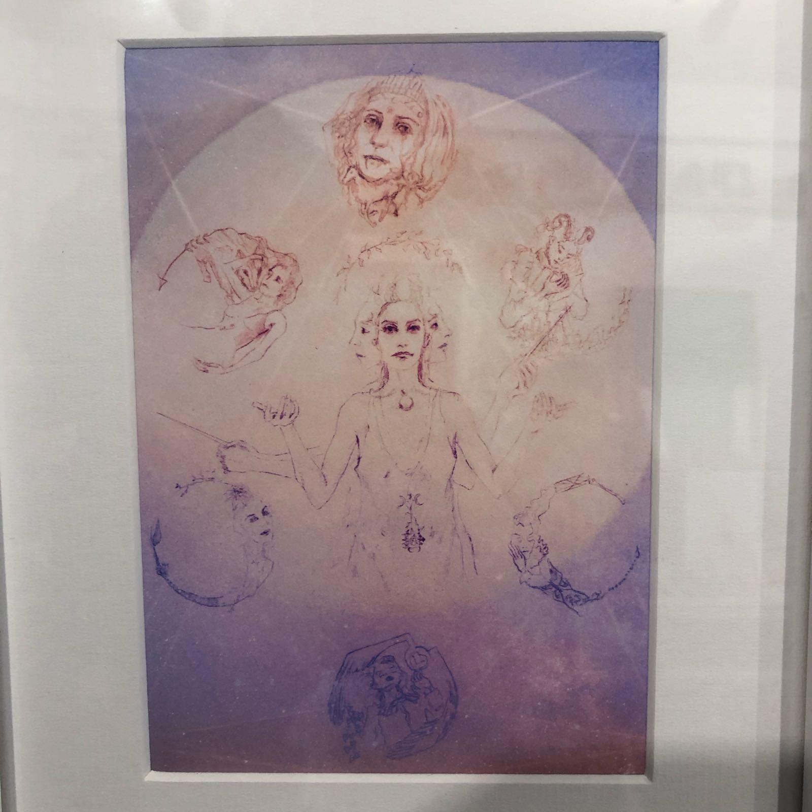 Goddess Hecate print