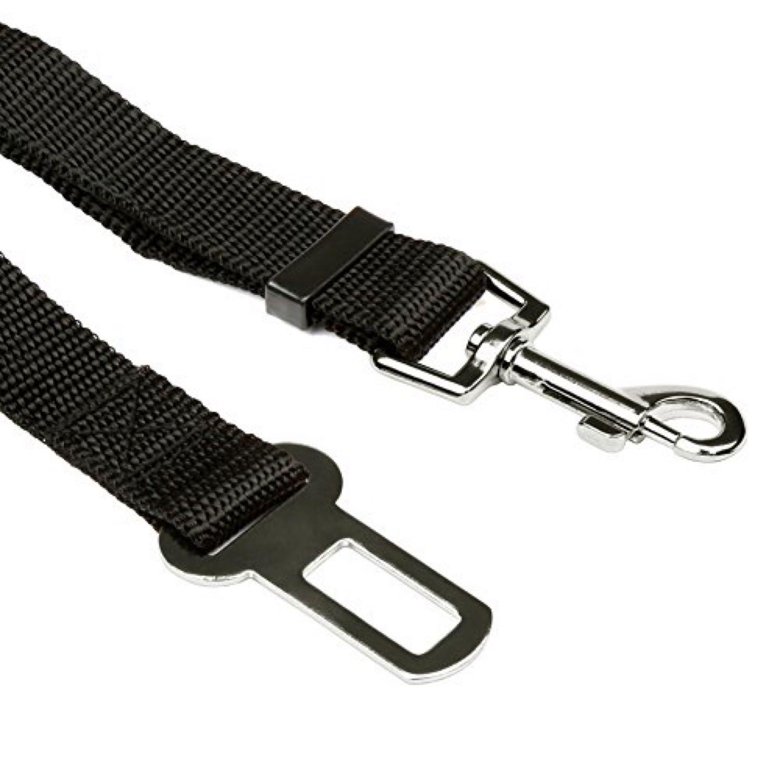 Car safety belt clip