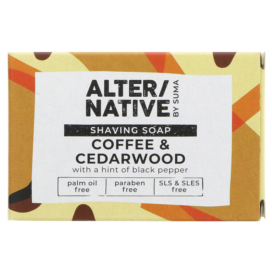 Shaving Soap Coffee & Cedarwood | Alternative