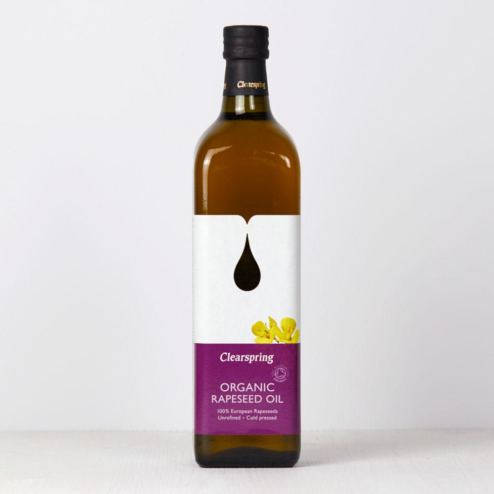 Rapeseed Oil | Organic | Clear Spring