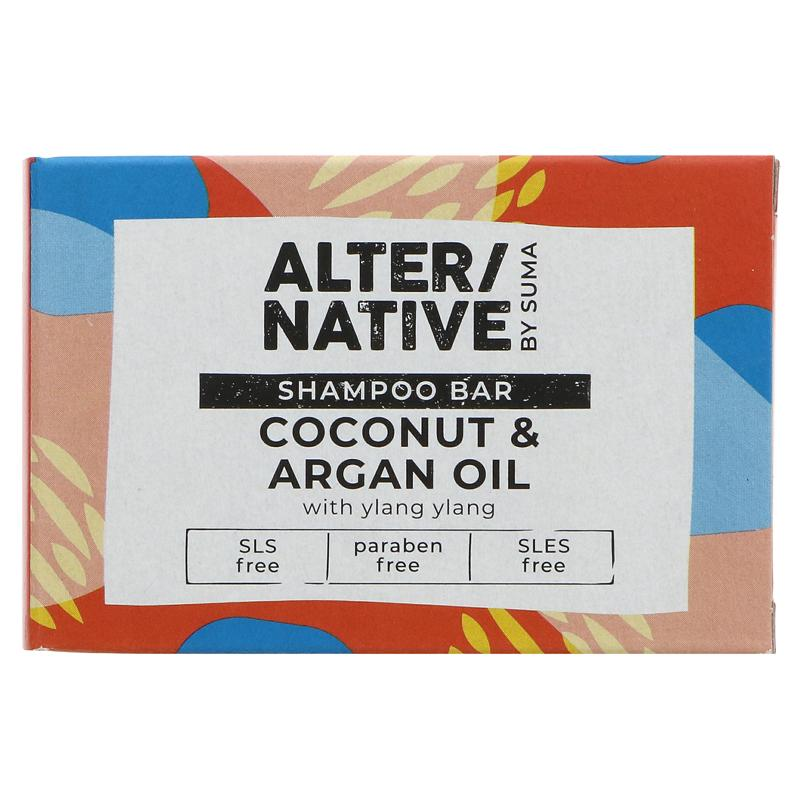 Coconut & Argon Oil | Shampoo Bar | Altern/ative