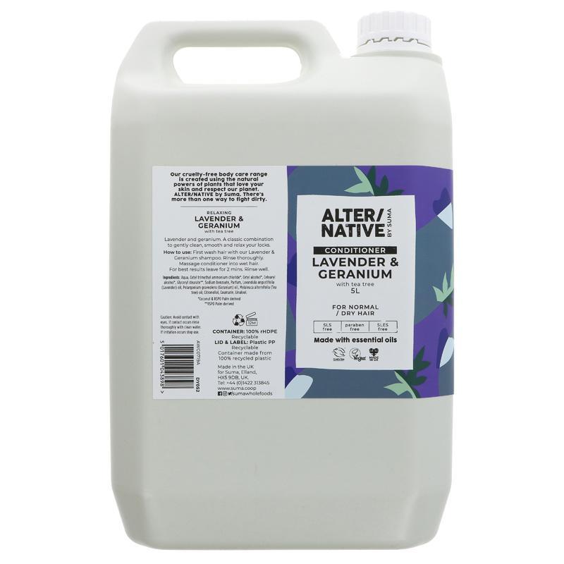 Lavender and Geranium | Conditioner | Alternative