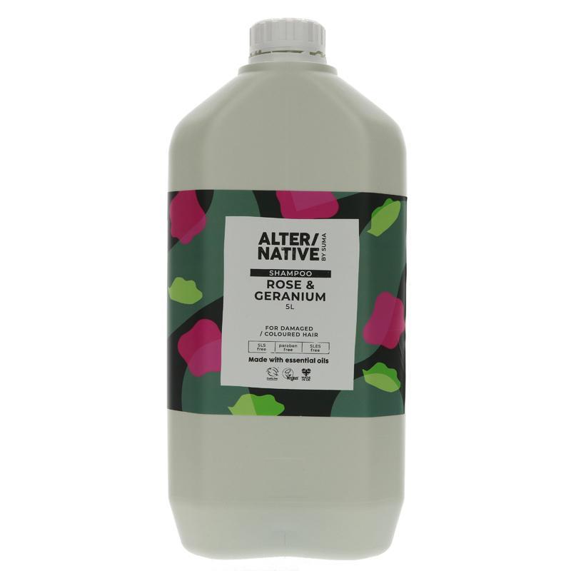 Rose and Geranium | Shampoo | Alternative