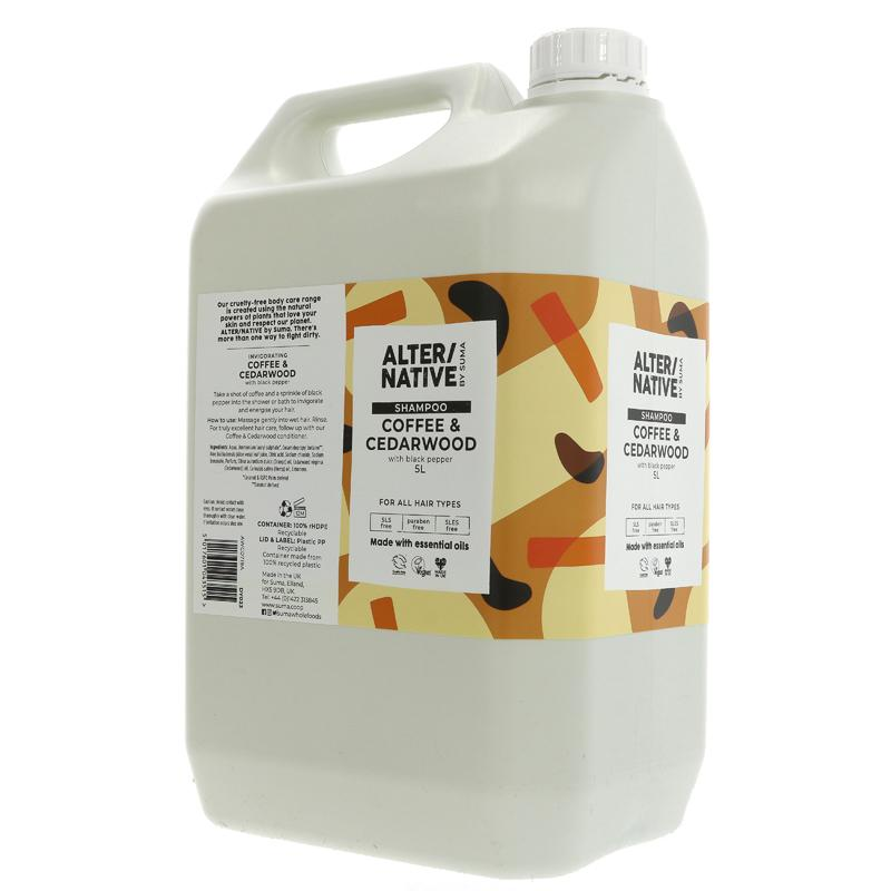 Coffee & Cedarwood | Shampoo | Bulk Buy 5L