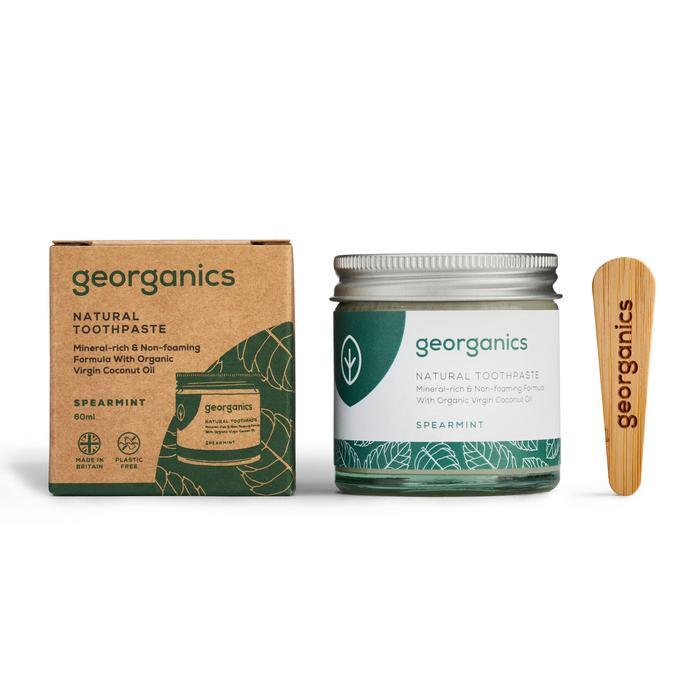 Natural Toothpaste | Spearmint | Georganics