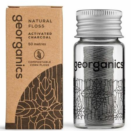 Dental Floss | Activated Charcoal | Georganics