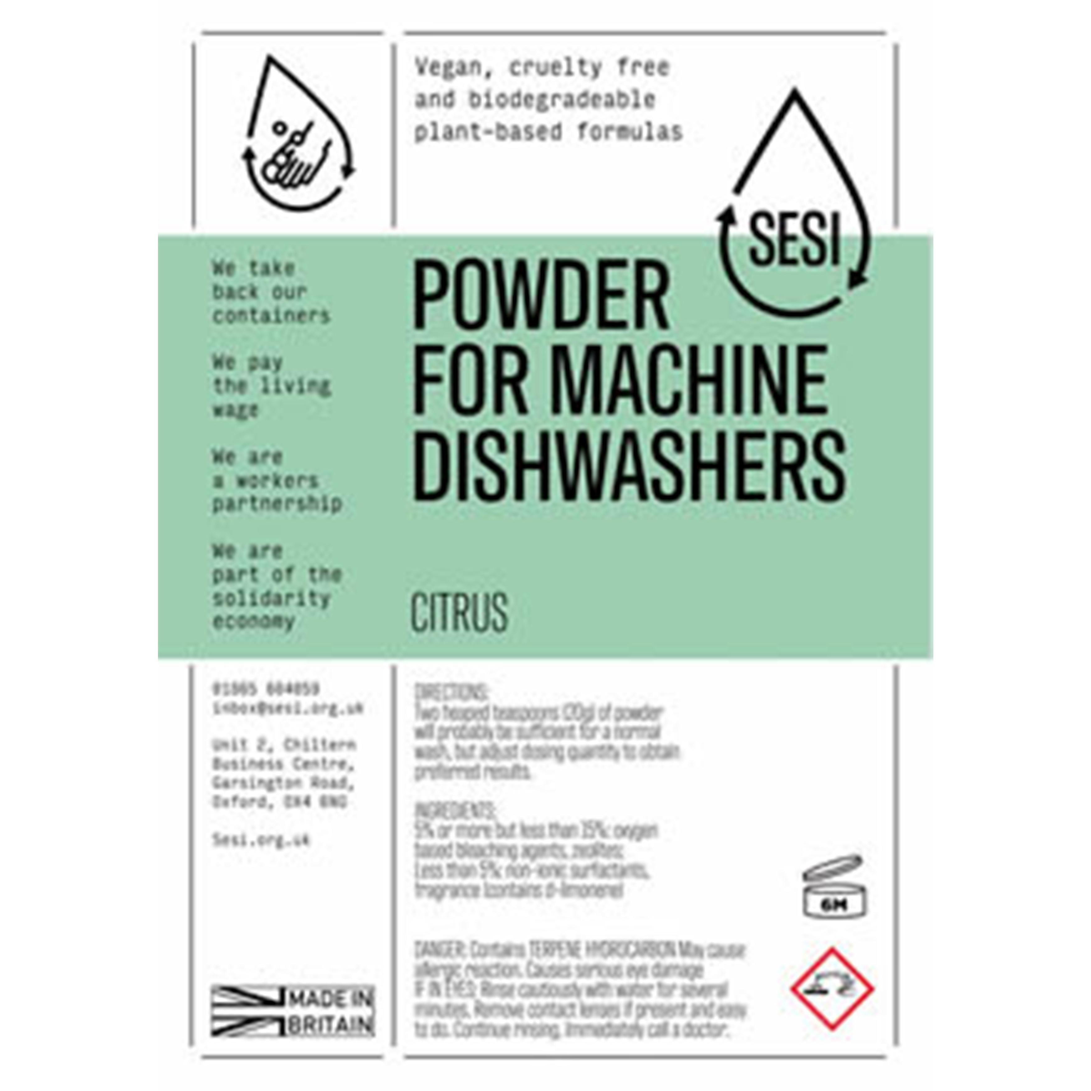 Dishwasher Powder | Sesi