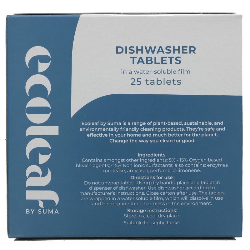 Dishwasher Tablets (x25) | EcoLeaf