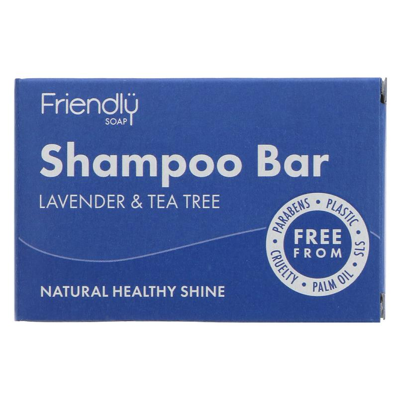 Lavender & Tea Tree | Shampoo Bar | Friendly