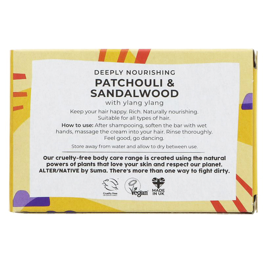 Patchouli & Sandelwood | Conditioner Bar | Alter/native