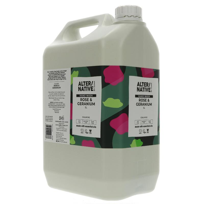 Rose and Geranium | Hand Wash | Bulk Buy 5L