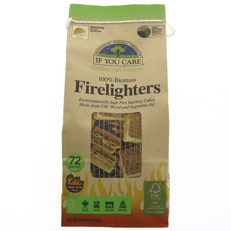 Firelighters   72 pack   If You Care