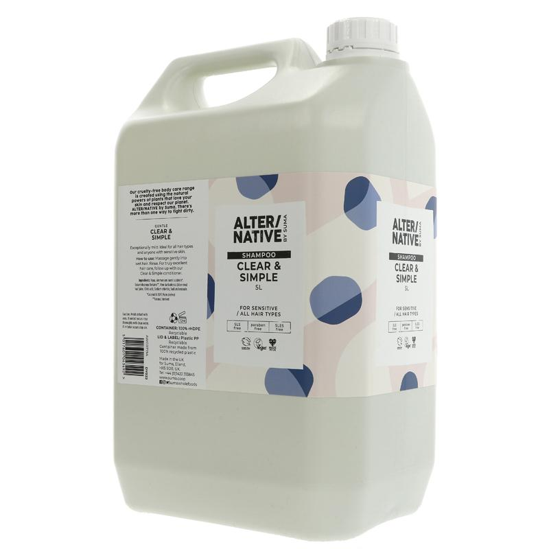 Clear & Simple | Shampoo | Bulk Buy 5L