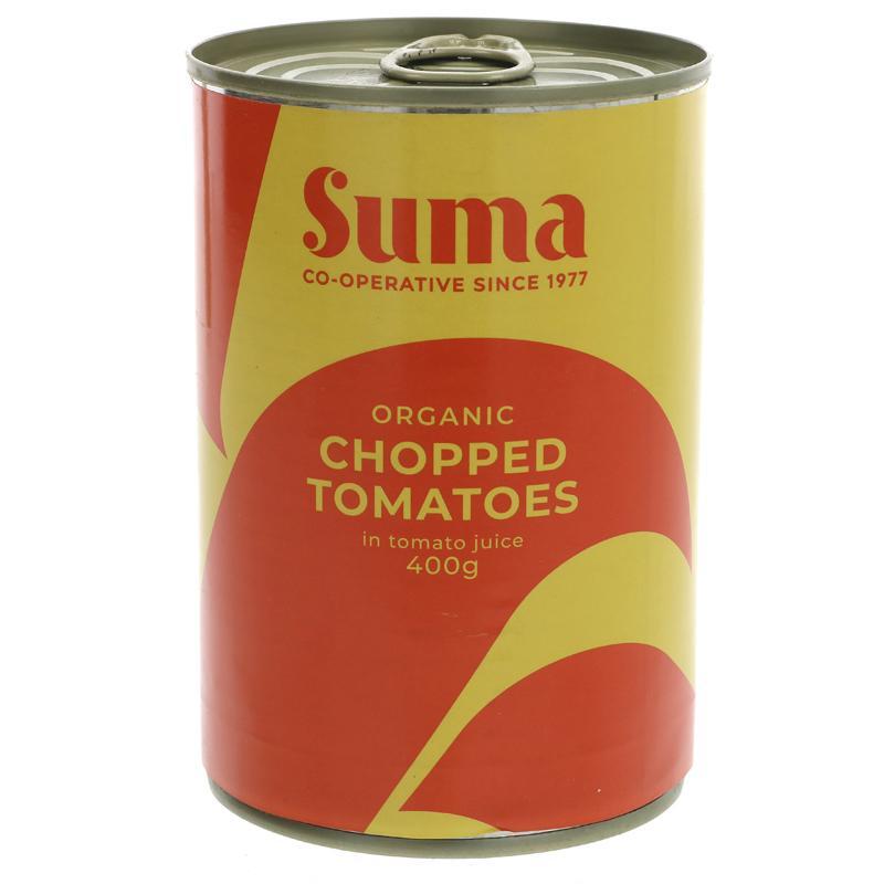 Chopped Tomatoes | Organic | Suma