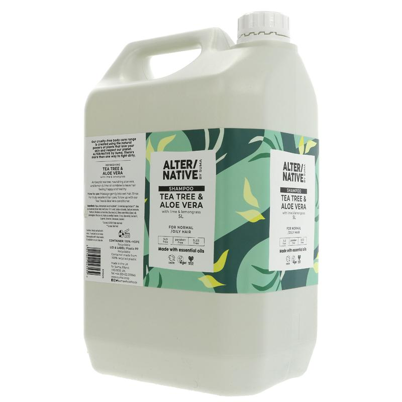Tea Tree and Aloe Vera | Shampoo | Bulk Buy 5L
