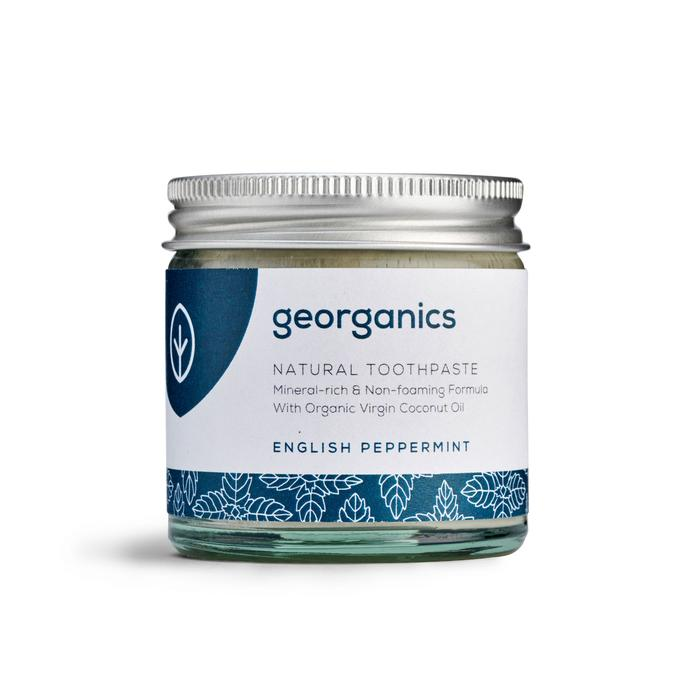 Natural Toothpaste | English Peppermint | Georganics