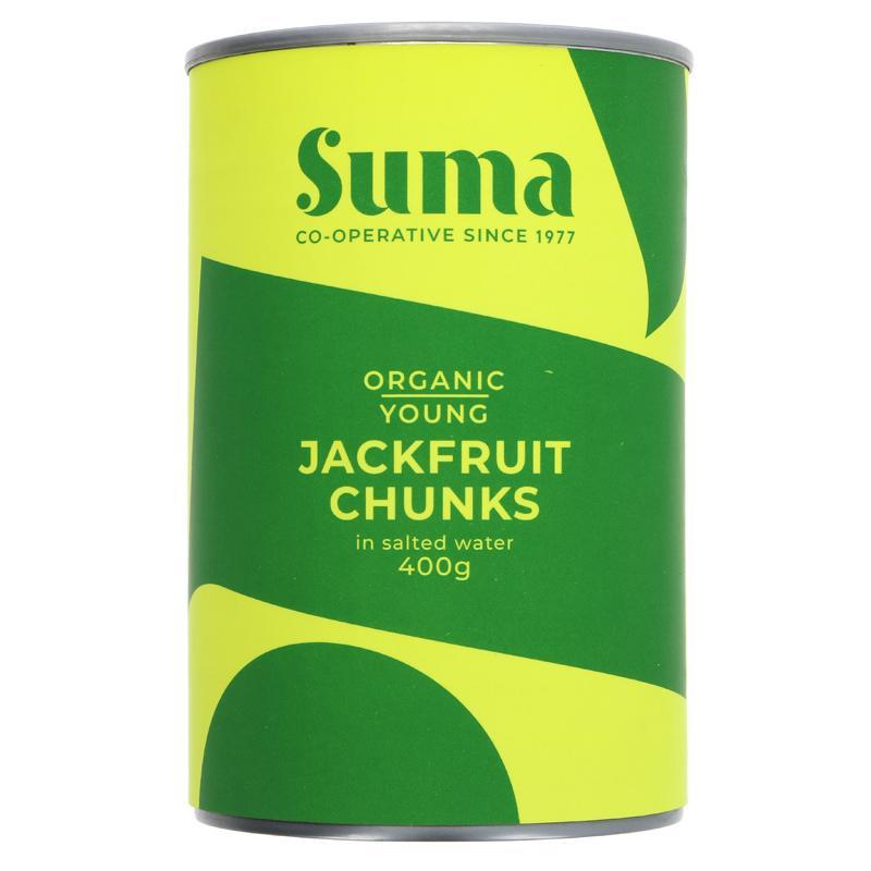 Young Jackfruit Chunks | Organic | Suma