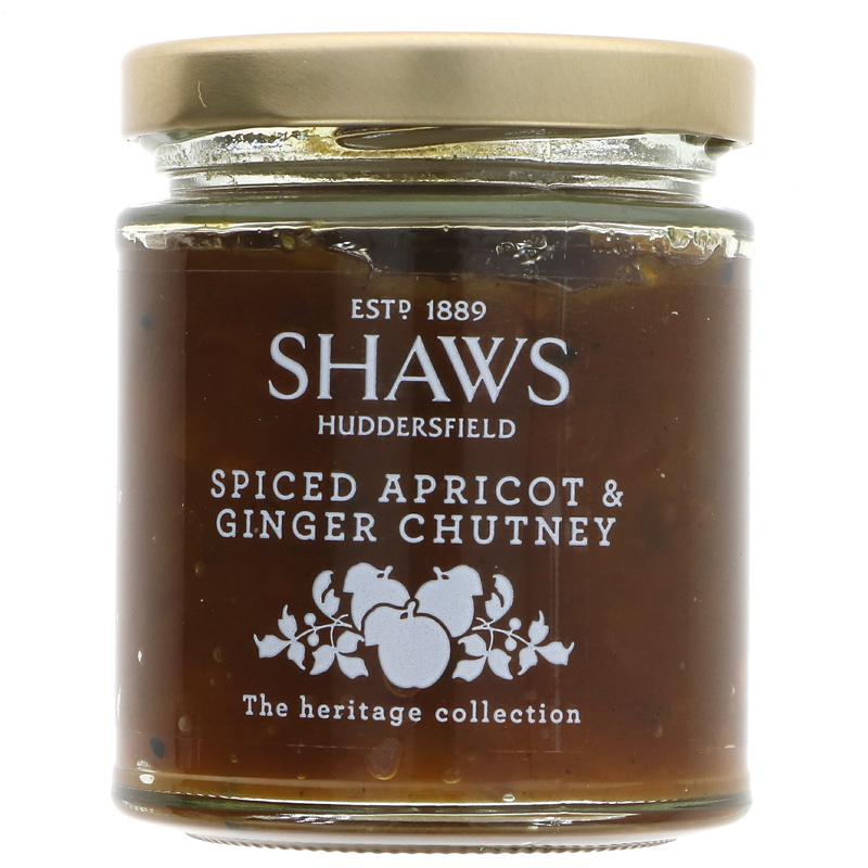 Spiced Apricot and Ginger Chutney | Shaws | 200g