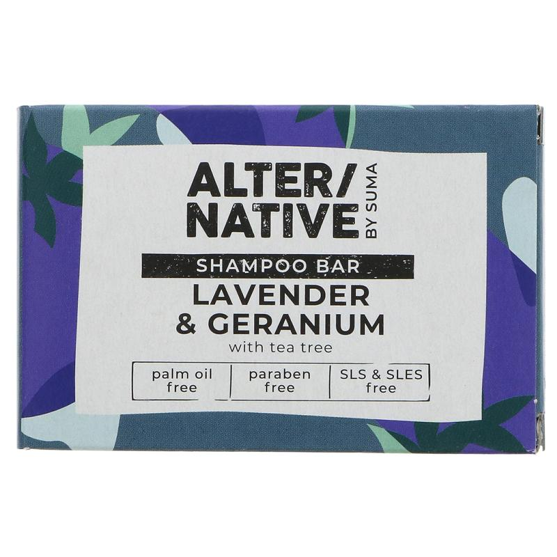 Lavender & Geranium | Shampoo Bar | Alter/native