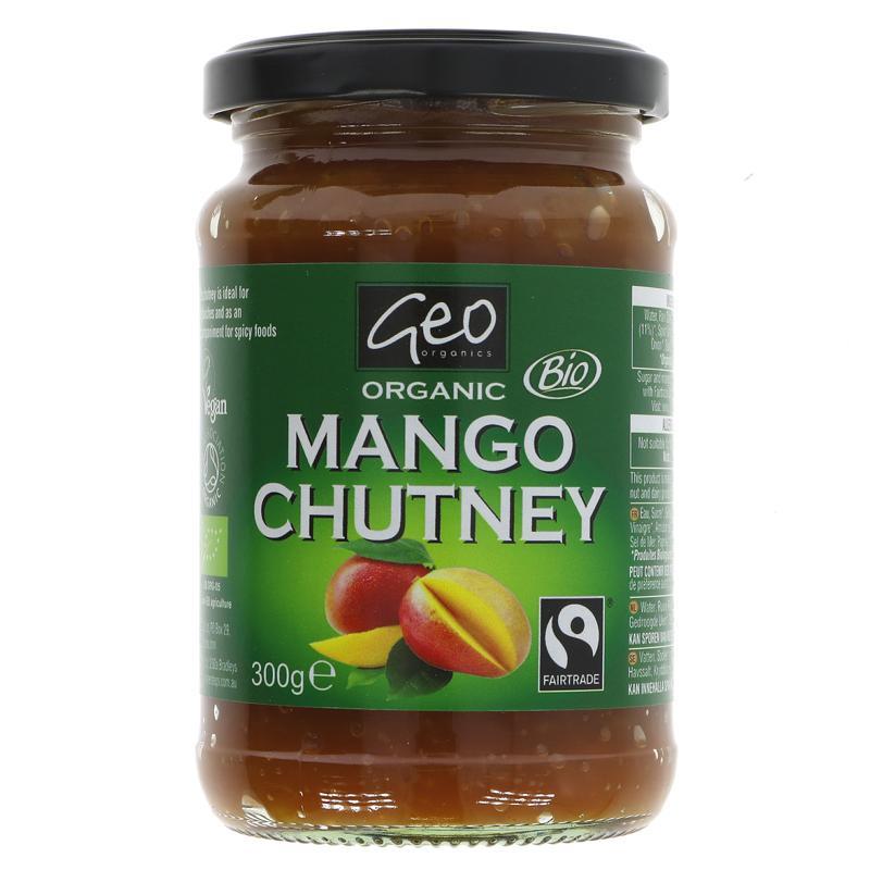 Mango Chutney | Geo Organics | 300g