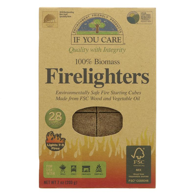 Firelighters   28 Pack   If You Care