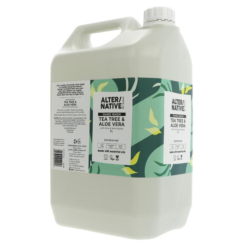 Tea Tree and Aloe Vera | Hand Wash | Bulk Buy 5L