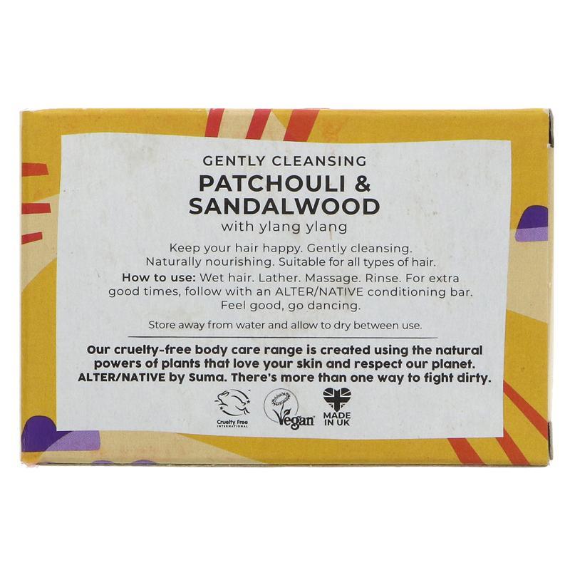 Patchouli & Sandelwood | Shampoo Bar | Alter/native