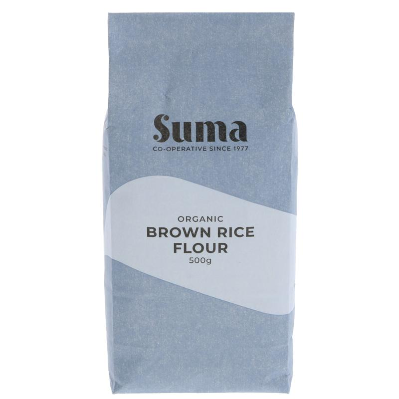 Brown Rice Flour | Suma | 500g