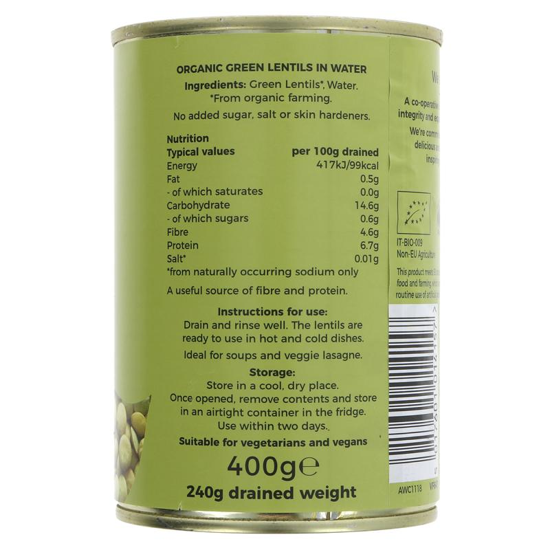 Green Lentils | Organic | Suma