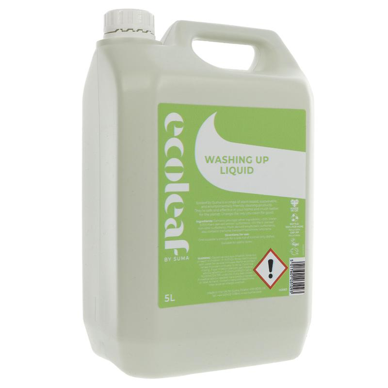 Washing Up Liquid | Ecoleaf | Bulk Buy 5L