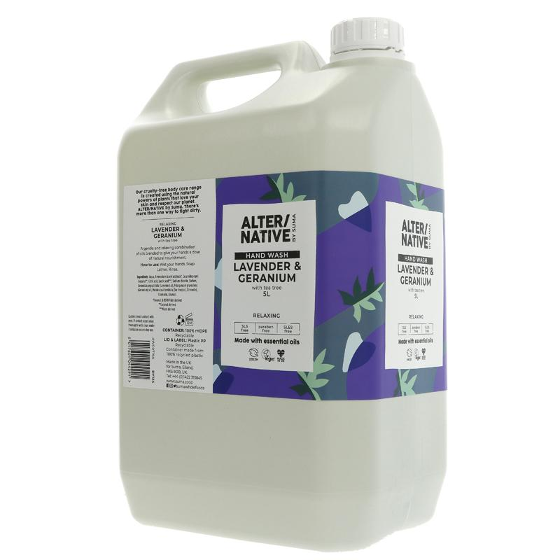 Lavender and Geranium | Hand Wash | Bulk Buy 5L