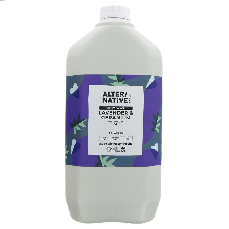 Lavender & Geranium   Body Wash   Alternative