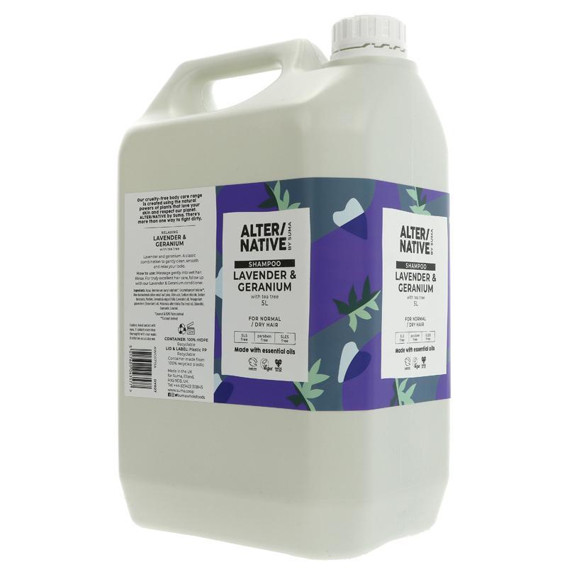 Lavender and Geranium   Shampoo   Bulk Buy 5L