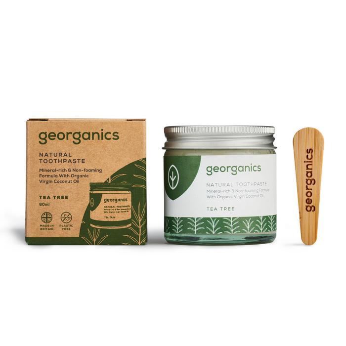 Natural Toothpaste | Tea Tree | Georganics