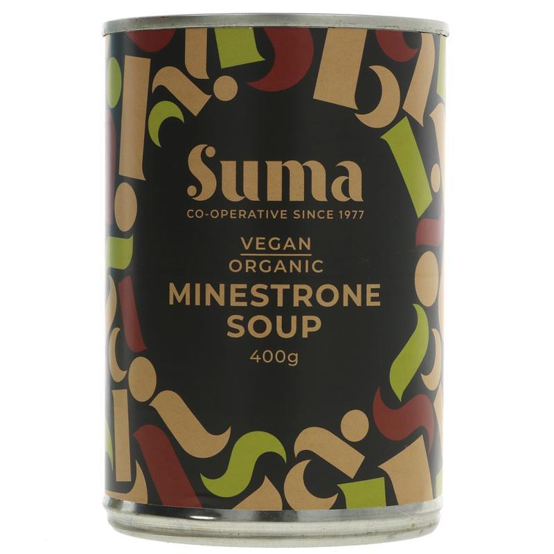 Minestrone Soup   Organic   Suma