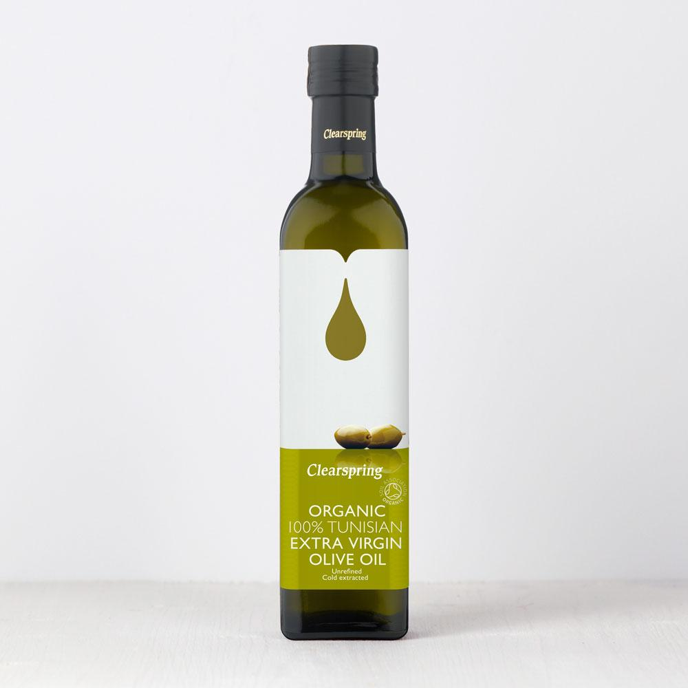Tunisian Extra Virgin Olive Oil | Organic | Clearspring