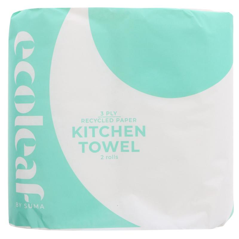 Kitchen Roll | EcoLeaf | 2 Rolls