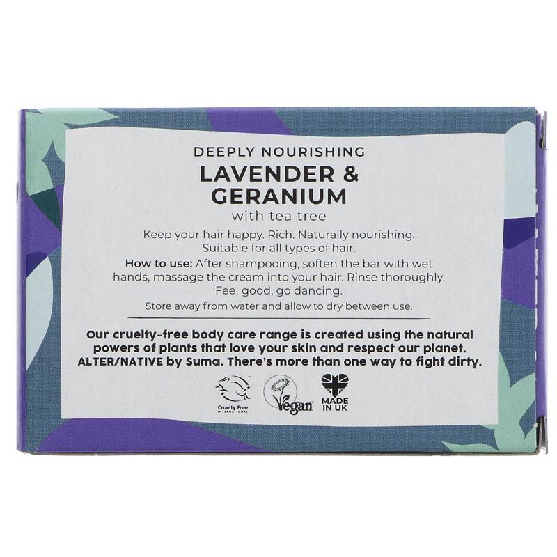 Lavender & Geranium | Conditioner Bar | Alter/native