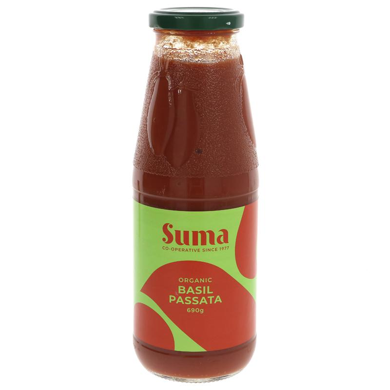 Organic Basil Passata   Suma