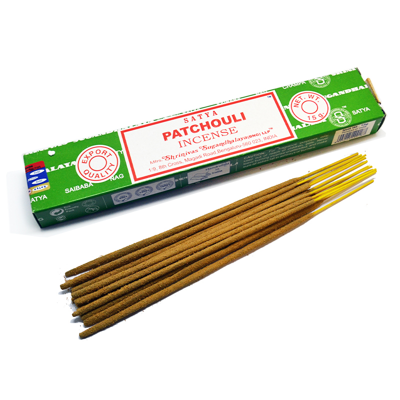 Patchouli Incense | Siesta Crafts Satya Sai
